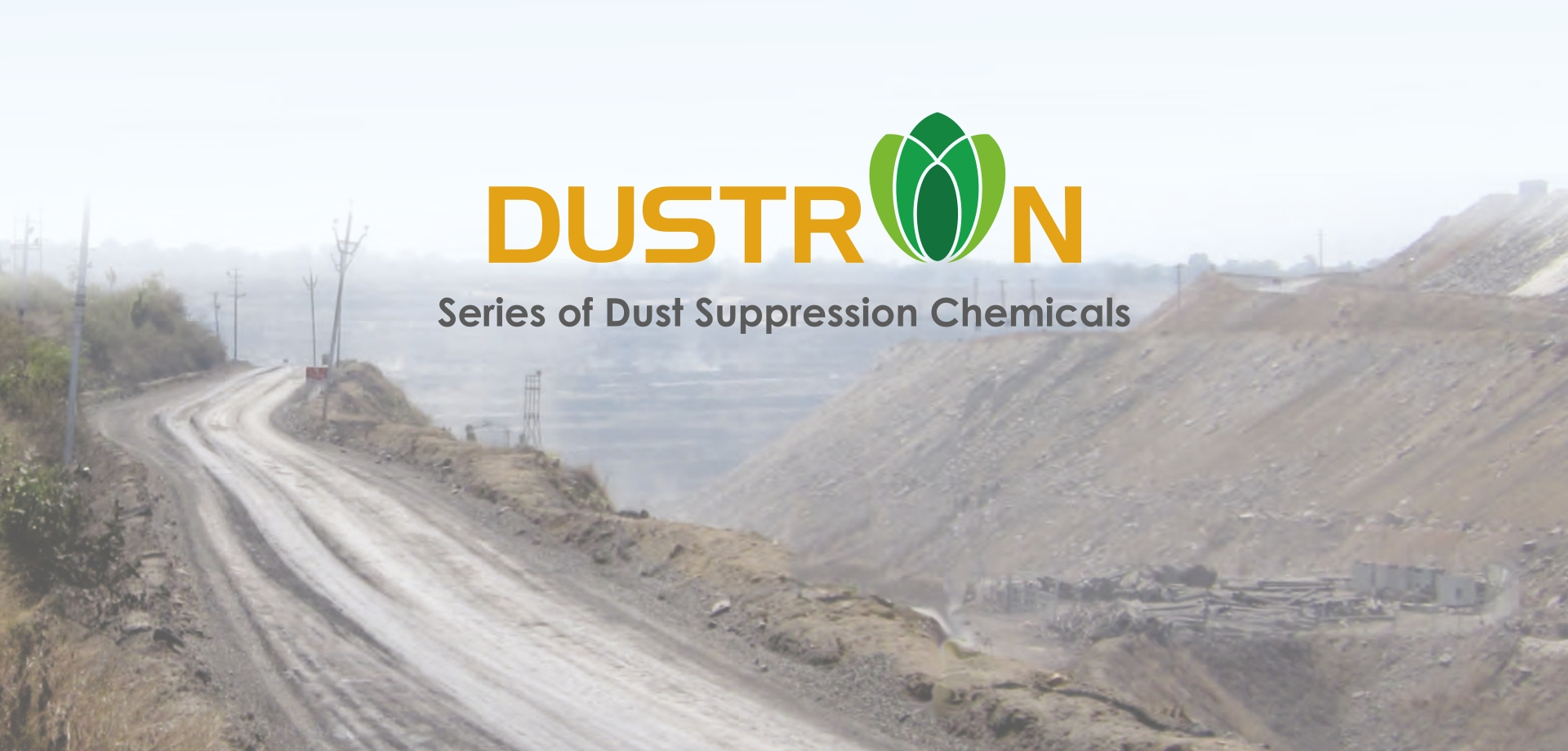 Syntron Industries -DUSTRON- series of Dust Suppression Chemical